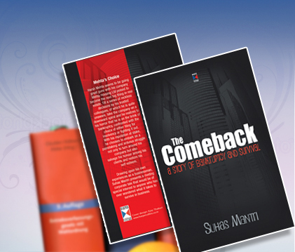 Suhas Mantri The Comeback Book